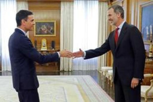 Spaanse koning belast Pedro Sanchez met regeringsvorming