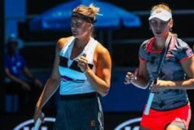 Roland-Garros: Elise Mertens deuxième Belge en demi-finales du double