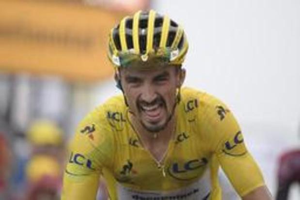 """Tour de France - """"Cela s'est corsé un peu dans le final"""", reconnaît Julian Alaphilippe"""