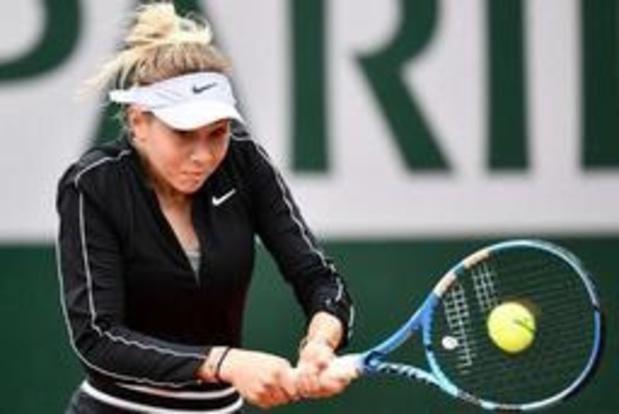 Forfait de l'Américaine Amanda Anisimova à l'US Open après le décès inopiné de son père et coach