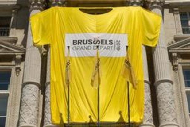 Tour de France: le Fan Park dans le centre de Bruxelles ne désemplit pas dimanche