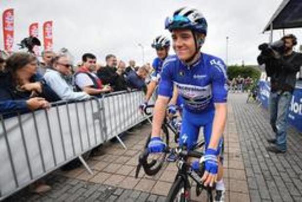 Remco Evenepoel heeft eindzege bijna beet in Baloise Belgium Tour