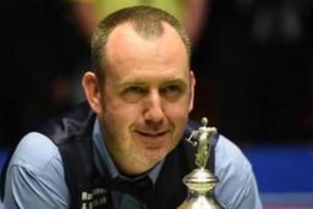 WK snooker - Titelverdediger Mark Williams strandt in tweede ronde