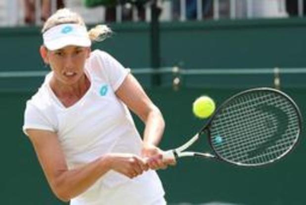 Elise Mertens laisse filer la qualification à Wimbledon après avoir mené 4-6, 2-5