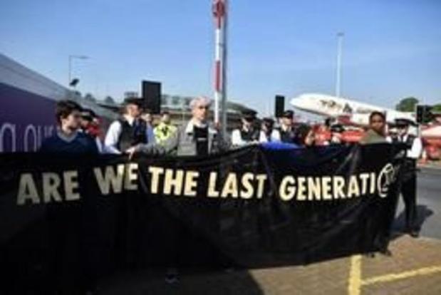 GB: l'aéroport de Heathrow se prépare à faire face aux militants écologistes
