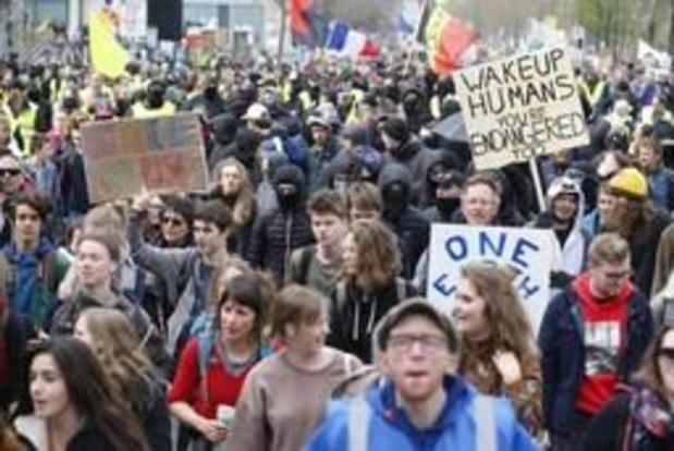 Derde grote klimaatmars van start gegaan in Brussel
