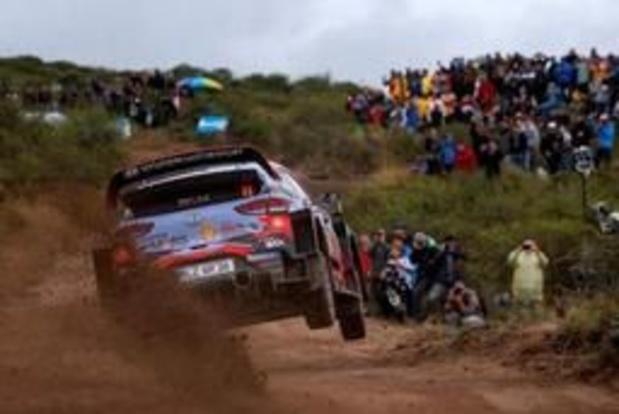 Rally van Argentinië - Thierry Neuville tweede in shakedown