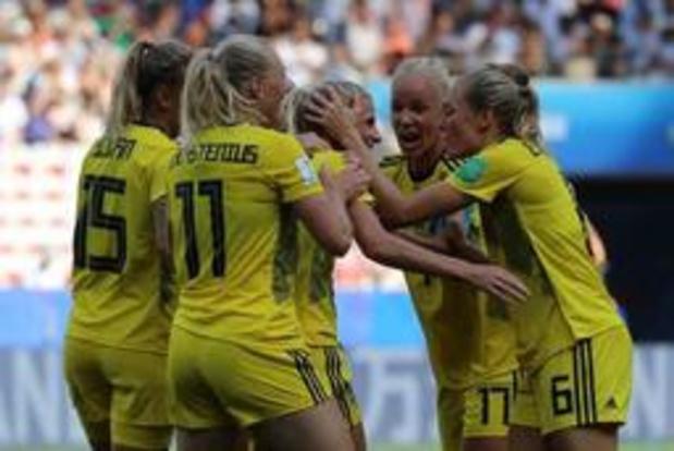 Mondial féminin - La Suède bat l'Angleterre et prend la troisième place