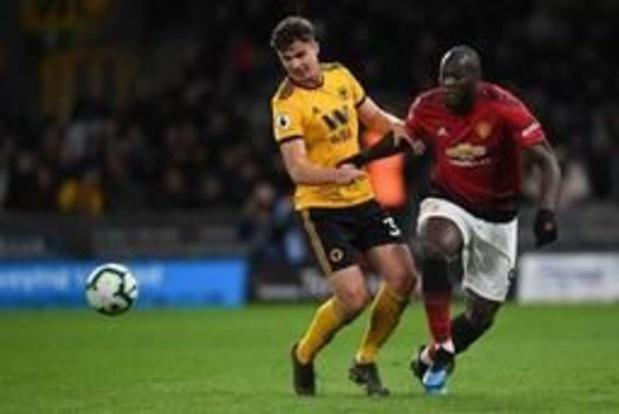 Les Belges à l'étranger - Manchester United avec Lukaku battu chez les Wolves de Dendoncker, Fulham et Odoi en D2