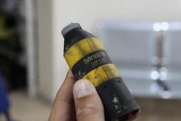 Conflit en Syrie - Trente-huit attaques avec des armes à sous-munitions en Syrie en 2018