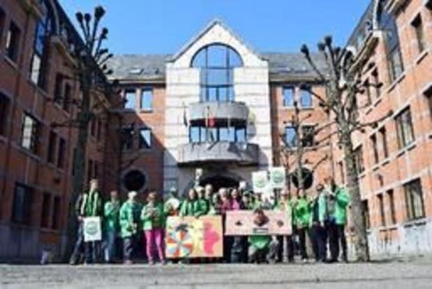 La CSC à Namur pour dénoncer les prix du TEC pour les sans-emploi