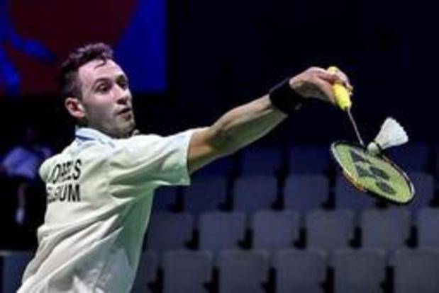WK badminton - Maxime Moreels en Lianne Tan komen in actie in Bazel