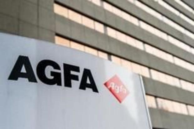 Agfa-Gevaert: baisse d'un cinquième du chiffre d'affaires au 2e trimestre