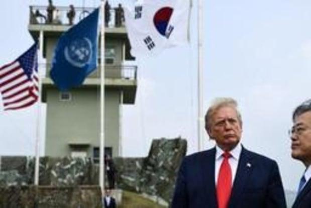 """Ontmoeting Trump-Kim - """"Koreaans schiereiland is extreem vreedzaam sinds eerste ontmoeting met Kim"""""""