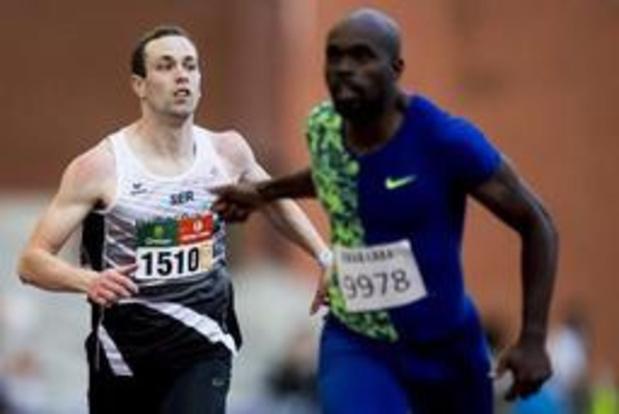 BK atletiek - Vanderbemden en Milanov winnen 200m en discuswerpen, maar blijven ver van WK-limiet