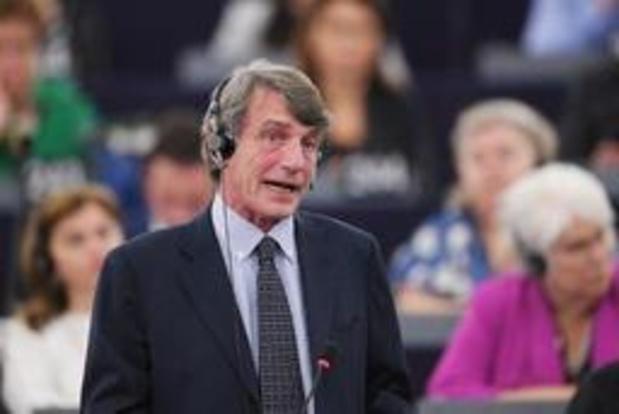 Italiaan David Sassoli verkozen als nieuwe voorzitter Europees Parlement
