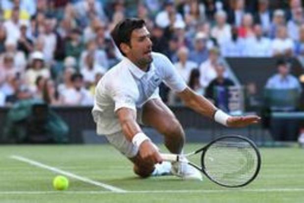Wimbledon - Novak Djokovic stoot vlot door naar derde ronde