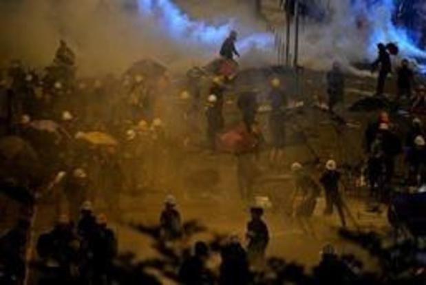 La police reprend le contrôle du parlement de Hong Kong aux manifestants
