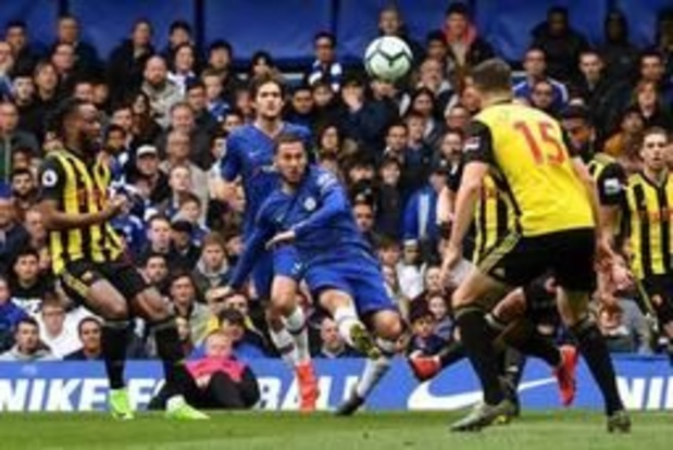 Hazard délivre deux assists pour Chelsea, United sera privé de Ligue des champions