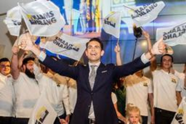 Le Vlaams Belang grand gagnant du scrutin en Flandre