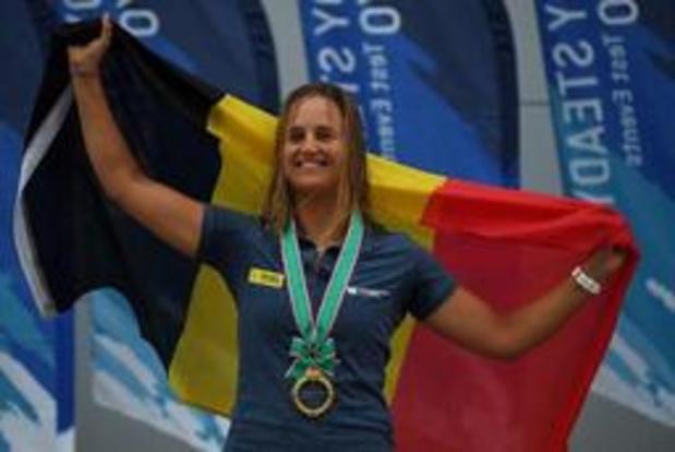 Emma Plasschaert est 3e après la première journée à Enoshima