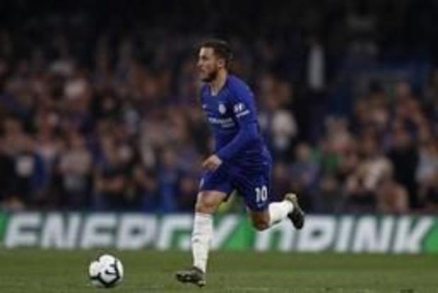 Eden Hazard candidat au titre de Joueur de la saison élu par les supporters