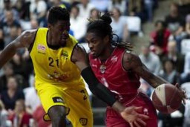 Euromillions Basket League - Oostende start finale met 67-73 winst in Antwerpen