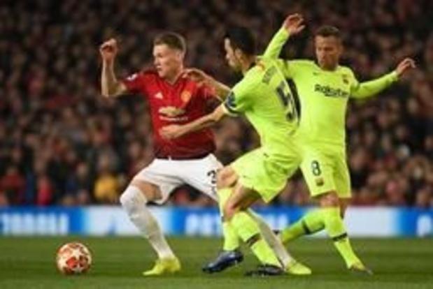 Ligue des Champions - Barcelone passe à Man United 0-1, la Juventus invaincue pour la 11e fois face à l'Ajax 1-1