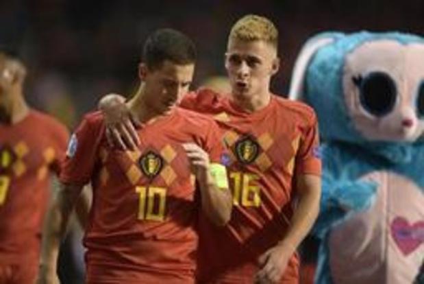 Eden en Thorgan Hazard zijn out voor tweeluik San Marino/Schotland
