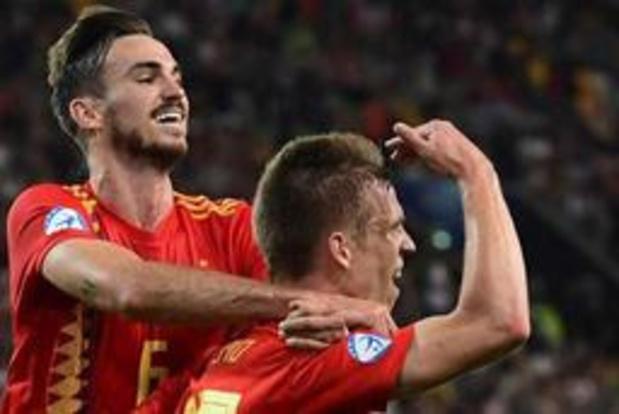 EK U21 (m) - Jong Spanje vijfde keer Europees kampioen