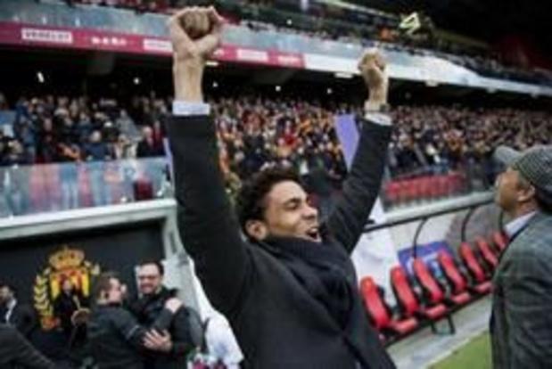 Spelers KV Mechelen verkennen Koning Boudewijnstadion