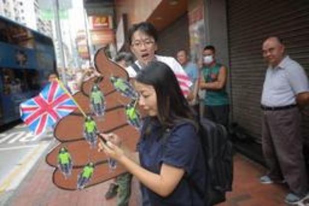 Les manifestants pro-démocratie de nouveau dans la rue à Hong Kong