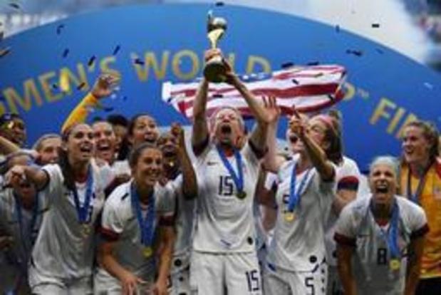 La fédération américaine de football affirme payer plus son équipe féminine que masculine