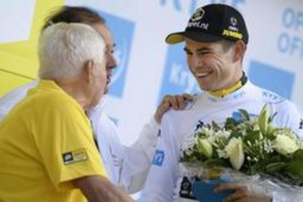 Tour de France - Van Aert is trotse drager van witte trui