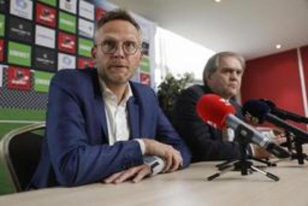 """Pro League bevestigt """"verkennend gesprek"""" met betrekking tot mogelijke BeNeLiga"""
