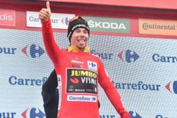 Vuelta-leider Primoz Roglic verlengt contract bij Jumbo-Visma