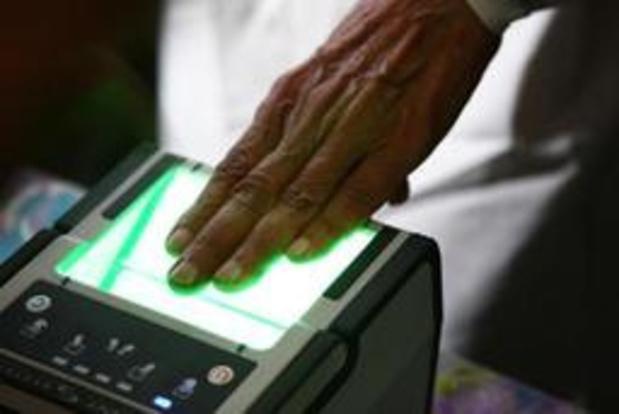 Les empreintes digitales sur la carte d'identité courant 2020