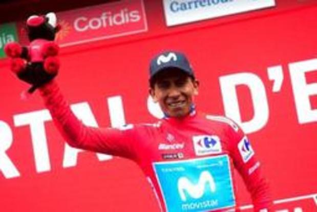 """Vuelta - Quintana verwacht trui dinsdag weer te verliezen: """"Roglic is nog steeds in het voordeel"""""""