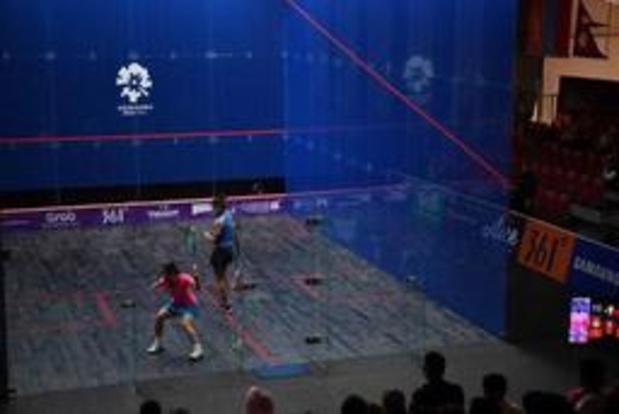 Nele Gilis devient championne d'Europe de squash à Bucarest