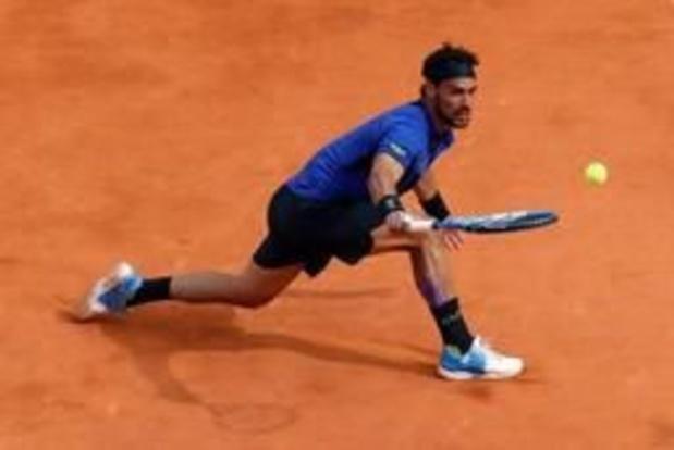 Fognini houdt Nadal uit finale in Monte Carlo