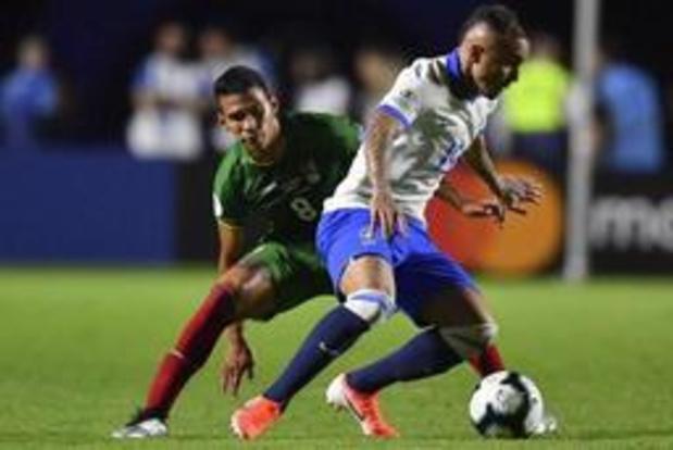 Copa America - Le Brésil bat la Bolivie 3-0 en ouverture du tournoi