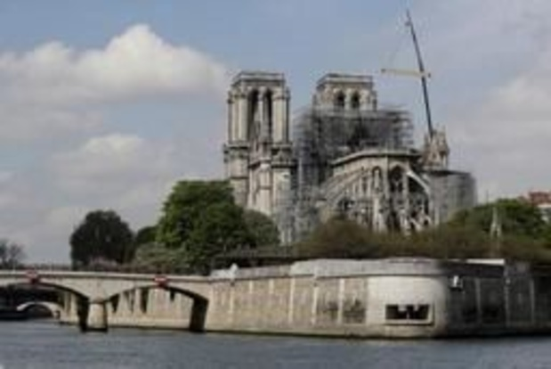 """Une cathédrale """"éphémère"""" en bois sera construite sur le parvis de Notre-Dame de Paris"""
