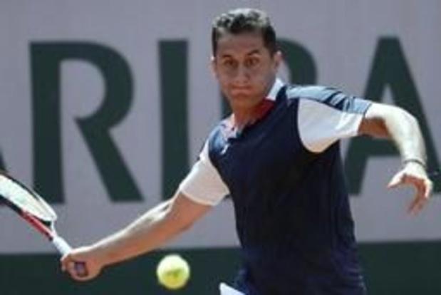 L'Espagnol Nicolas Almagro dispute son dernier tournoi à Murcie