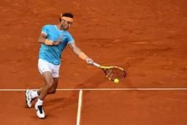 ATP Madrid - Rafael Nadal complète le tableau des quarts de finale