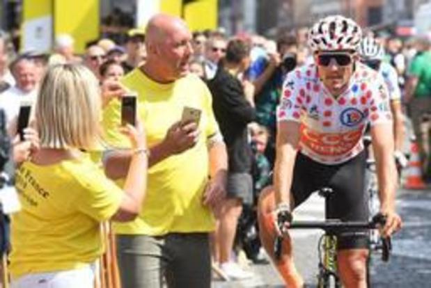 Zeventigduizend fans voor Ronde van Frankrijk maandagmiddag in Binche