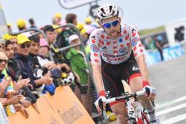 Tour de France - Tim Wellens a dépensé trop d'énergie pour essayer de se glisser dans une échappée
