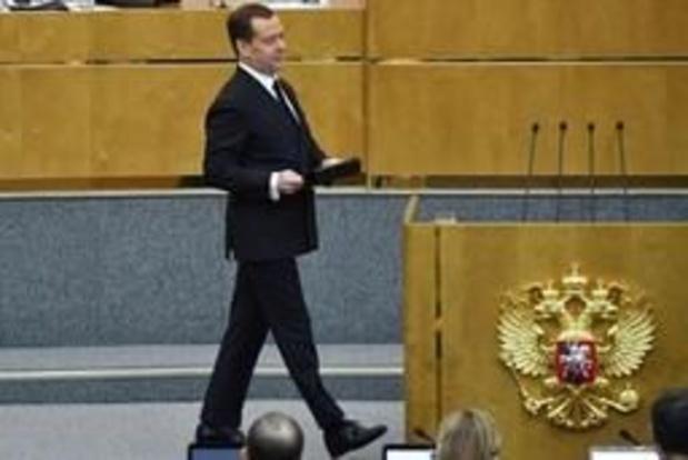 """Medvedev voit """"une chance"""" de meilleures relations avec l'Ukraine"""