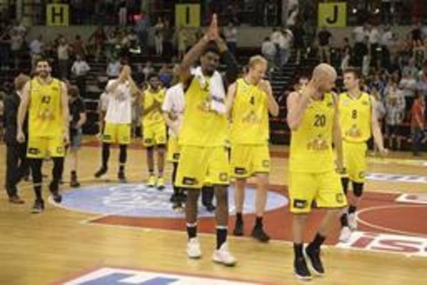 Euromillions Basket League - Ostende premier qualifié pour la finale des playoffs