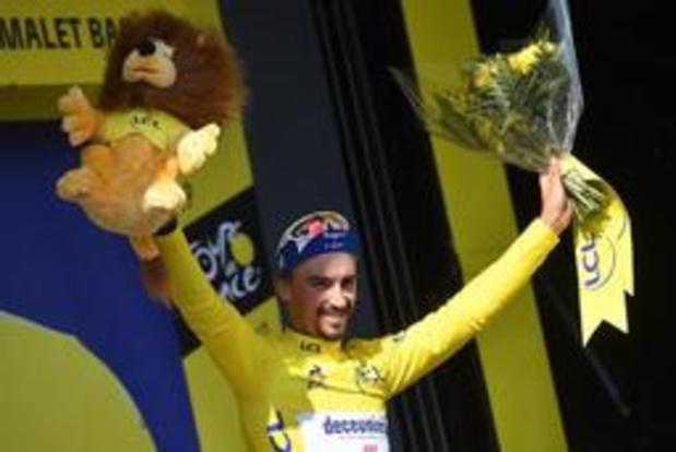 """Tour de France - """"Plus on se rapprochera de Paris, plus je me poserai la question"""", confie Alaphilippe"""