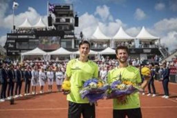 ATP Bastad - Sander Gille et Joran Vliegen ravis de leur première victoire dans un tournoi ATP